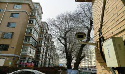 哈尔滨市小区实行刷脸进门